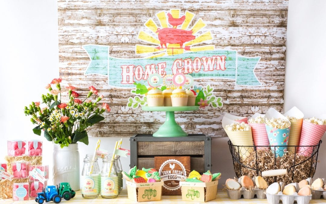 Celebrate your favorite mama-to-be with our Farm Fresh Baby Shower