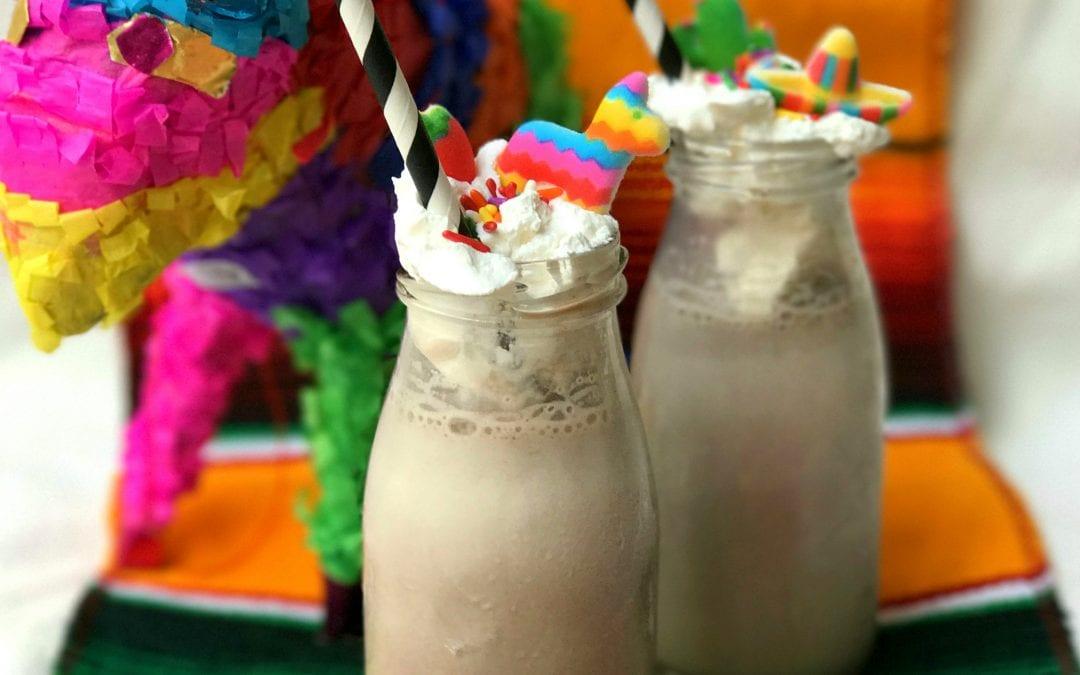 5-Minute Cinco de Mayo-Inspired Chocolate Milkshake!