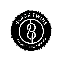 Black Twine Stylist Circle Logo