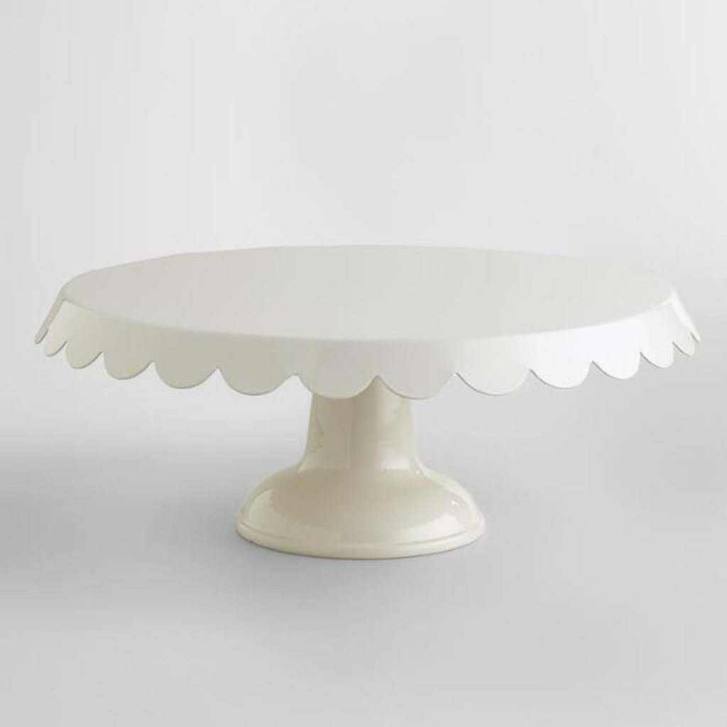 ivory cake stand