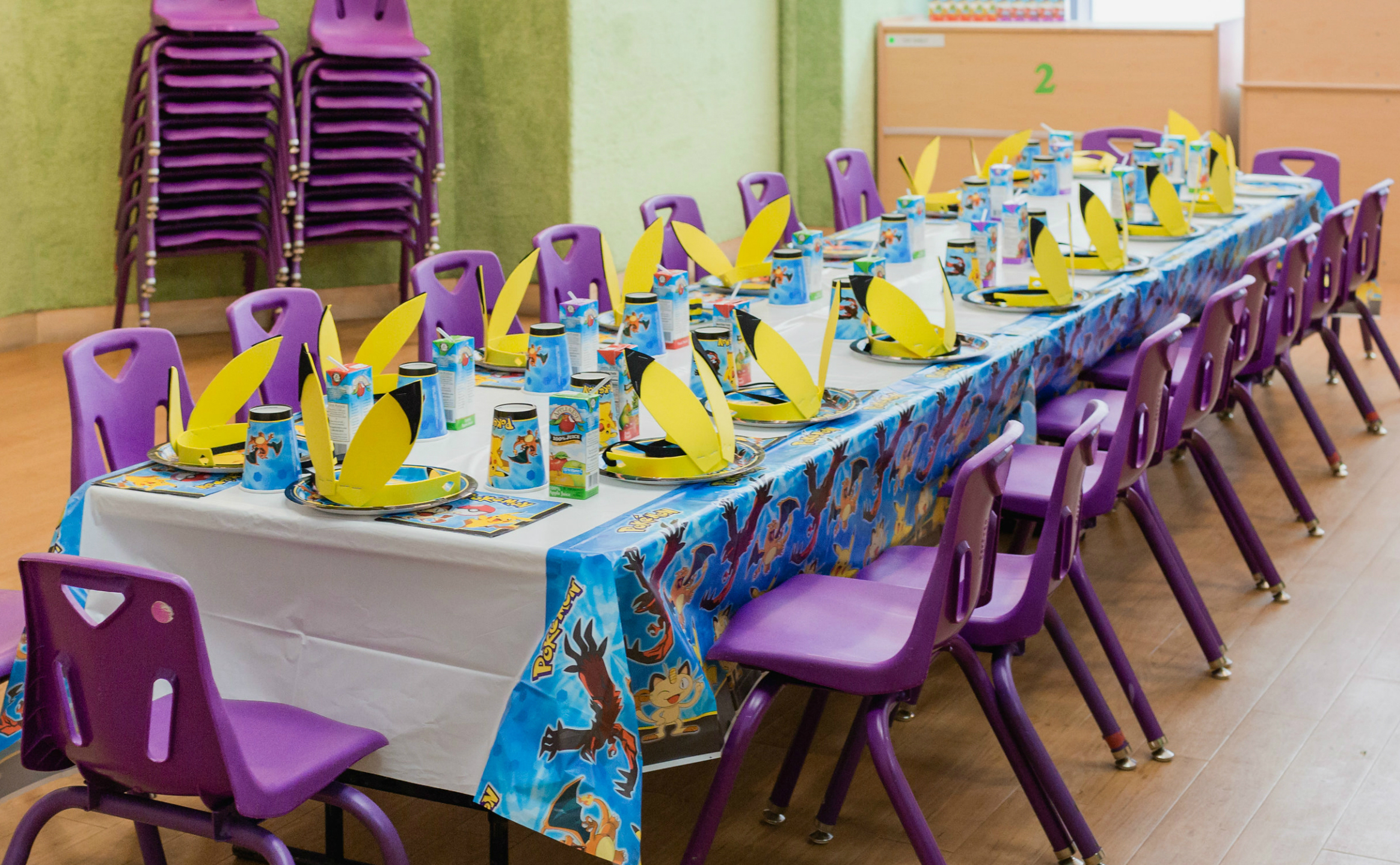 Pokemon Birthday Party Table | Black Twine