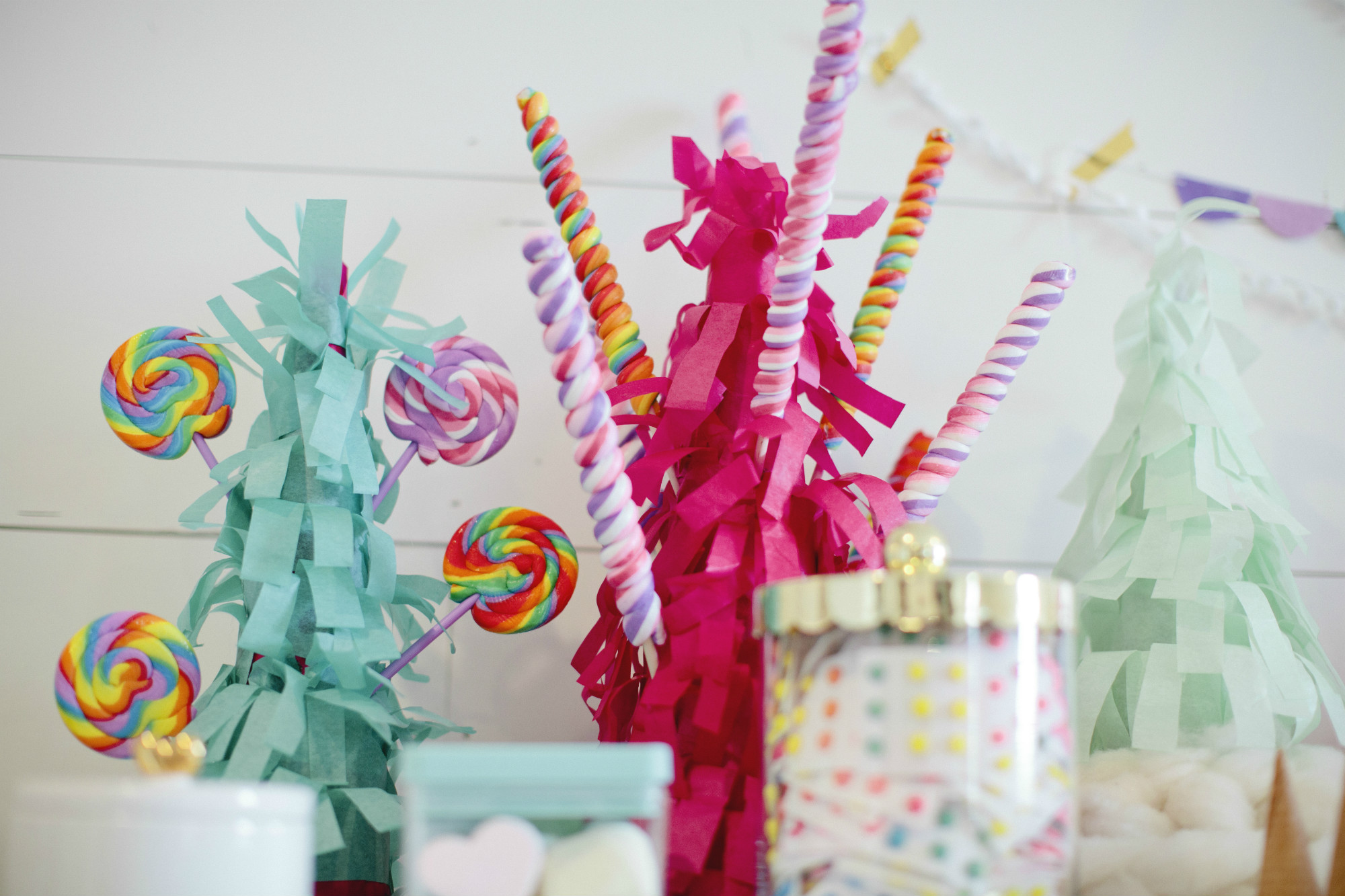 Be A Unicorn Birthday Party Black Twine