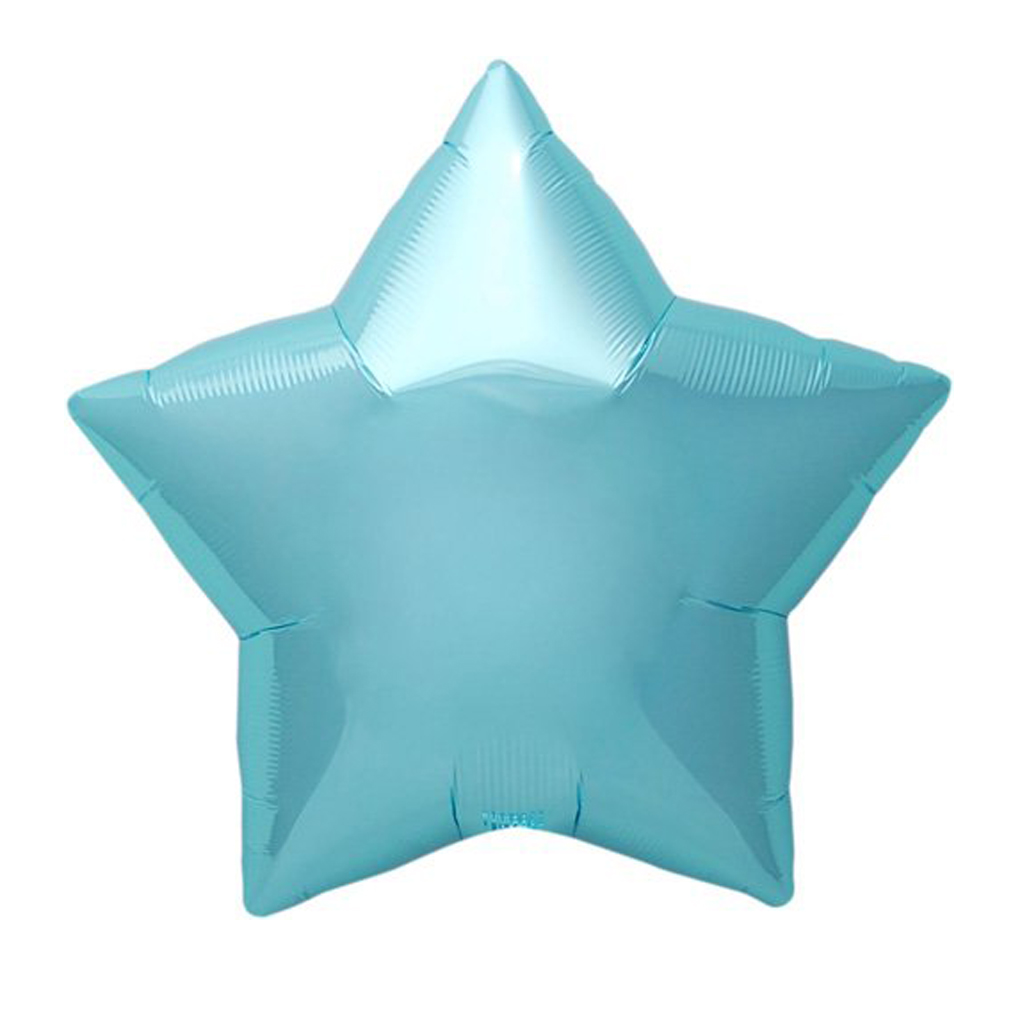 "22"" Blue Star Balloon 
