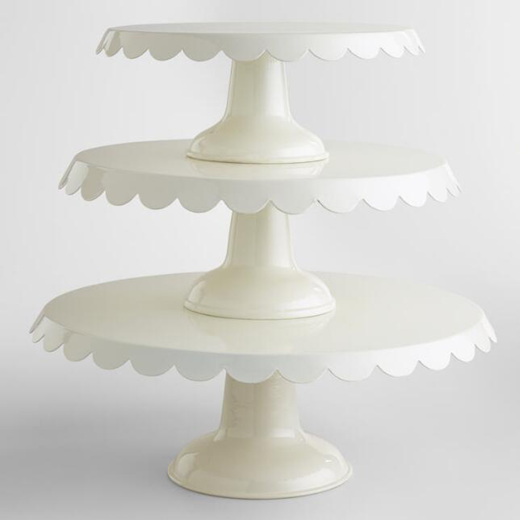 Cake stands from Cost Plus World Market | Black Twine