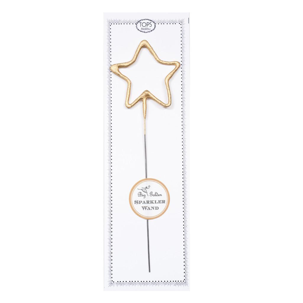 Gold Star Sparkler Wand