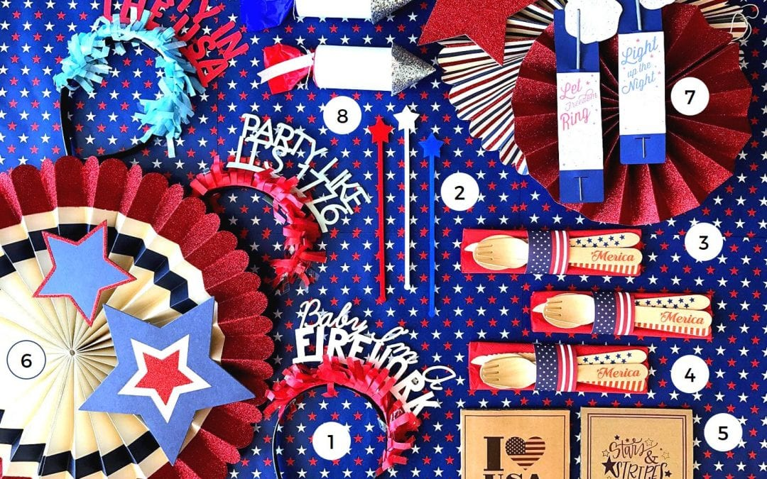 Celebrate Fourth of July with a Party in the USA!