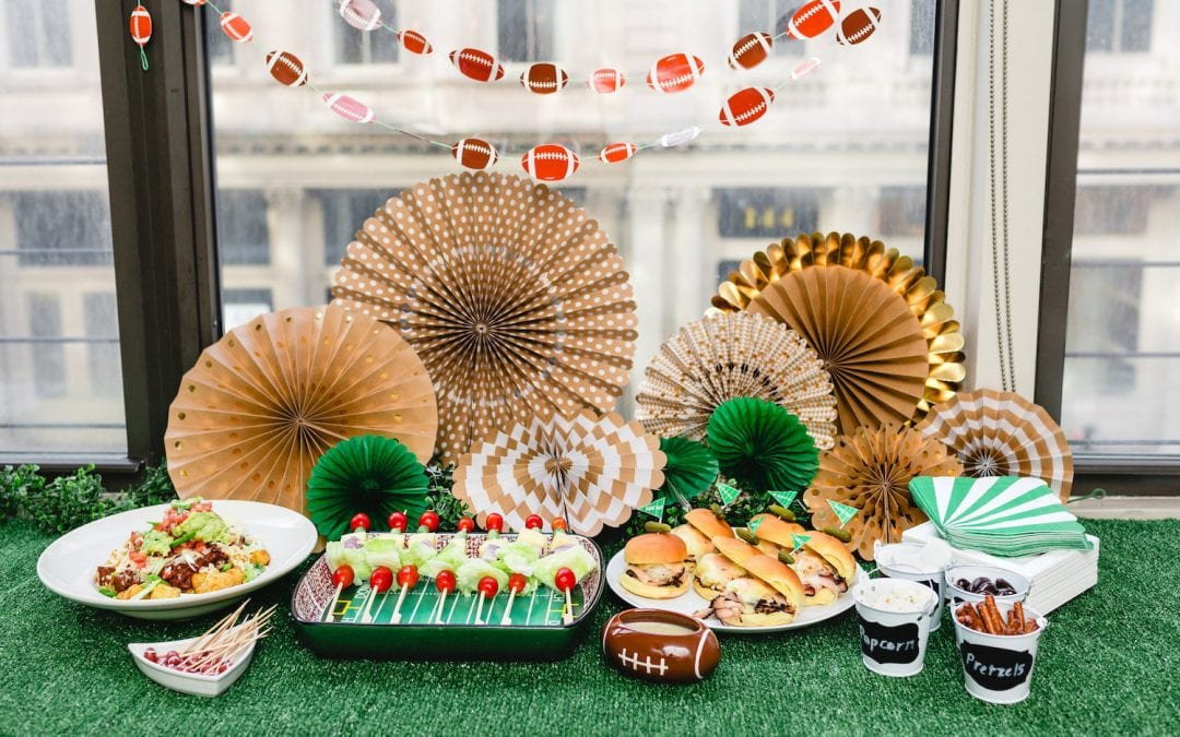 Score Big with Super Bowl Party Favorites