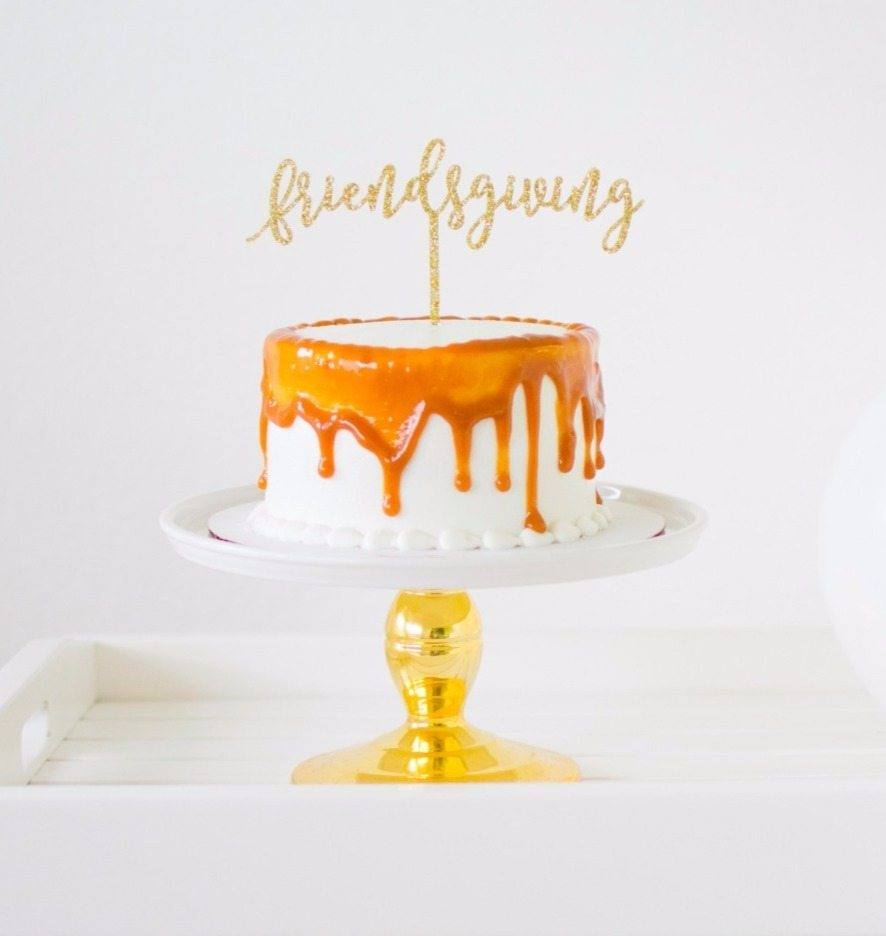 custom cake topper by midnight confetti
