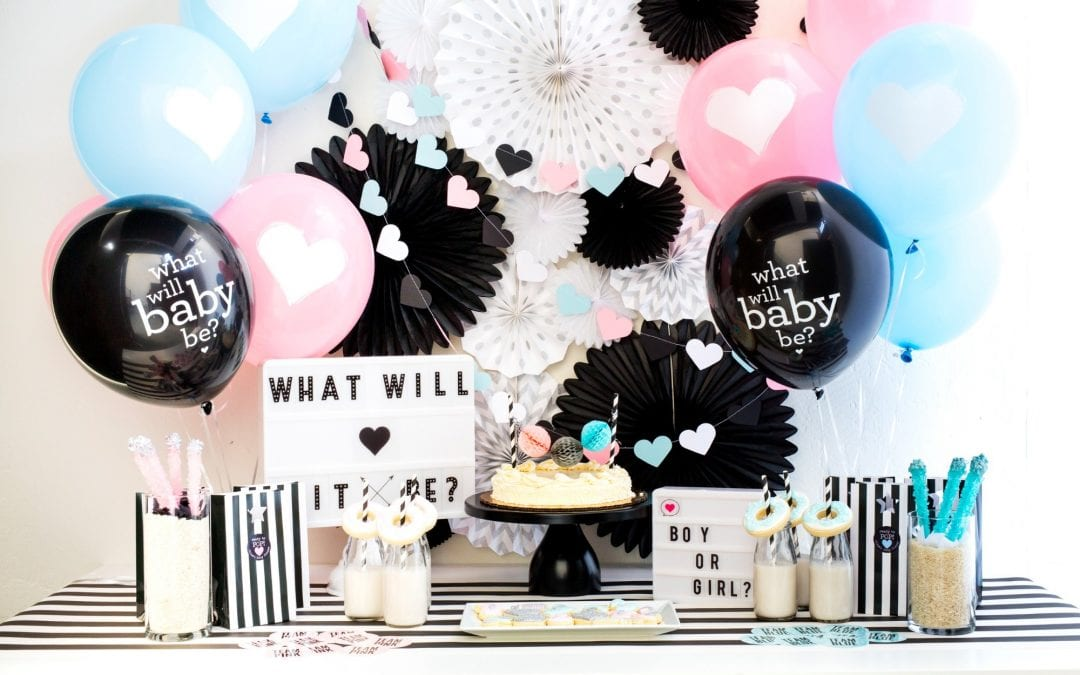 How to Throw a Gender Reveal Baby Shower