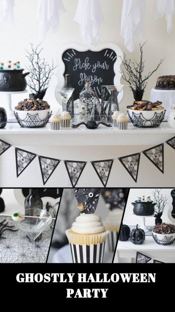 Halloween Party by Twinkle Twinkle Little Party | Black Twine