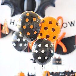 "Halloween 11"" Latex Balloon Set - Happy Wish Company"