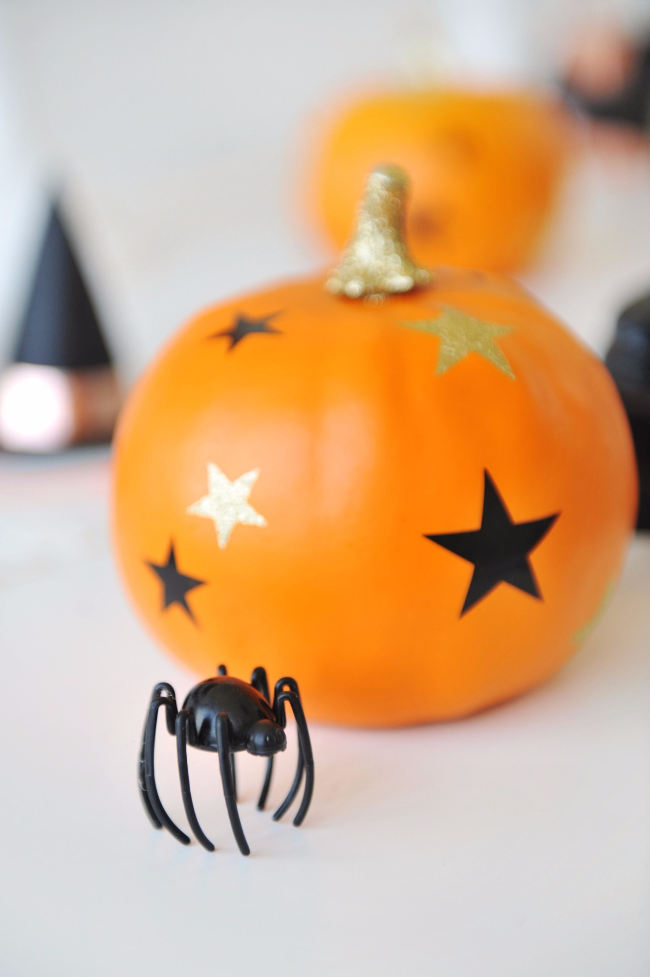 Pumpkin and spider from Halloween Party by Happy Wish Company | Black Twine