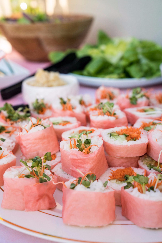 Pink Sushi | Black Twine