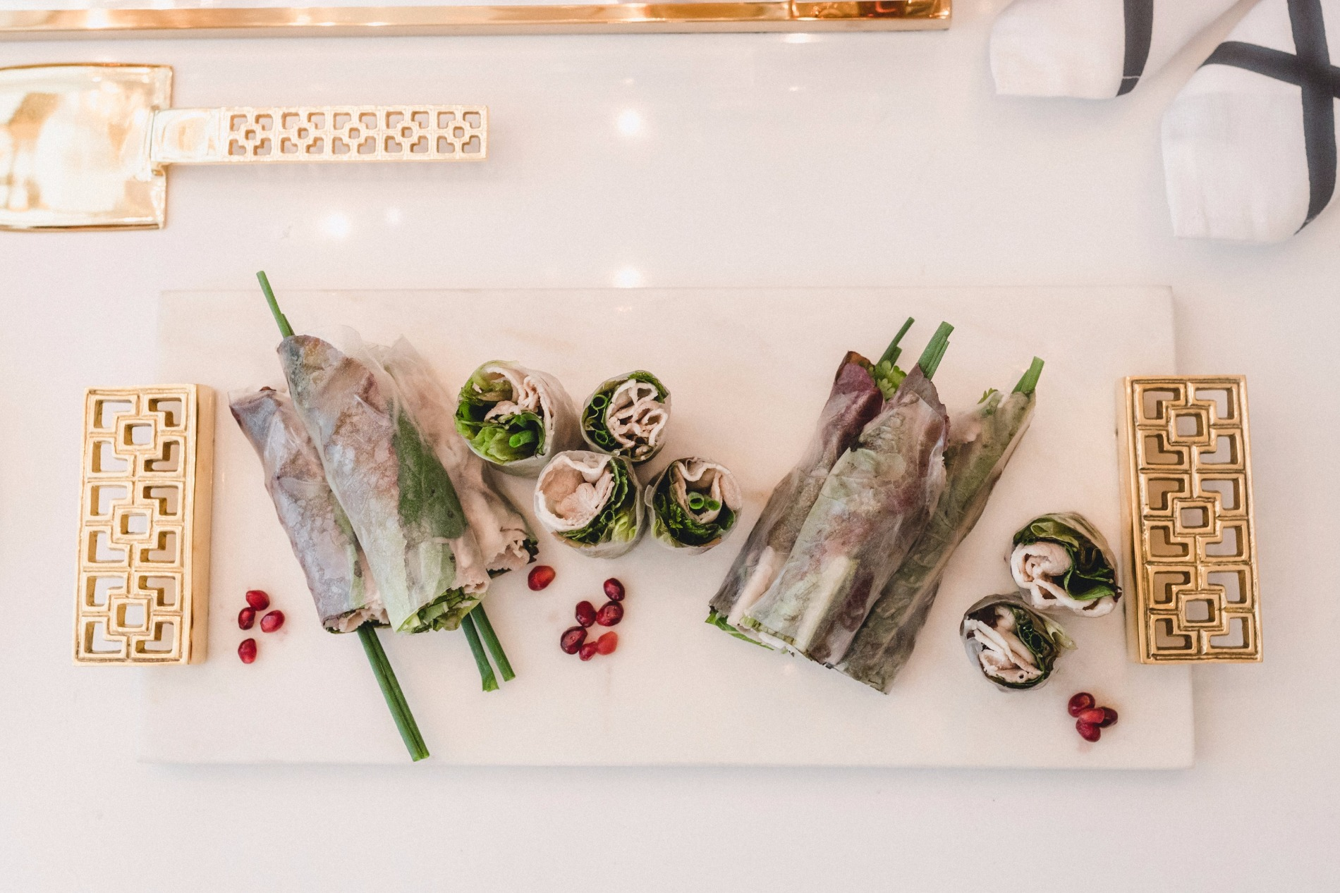 """Fall"" Summer Rolls 