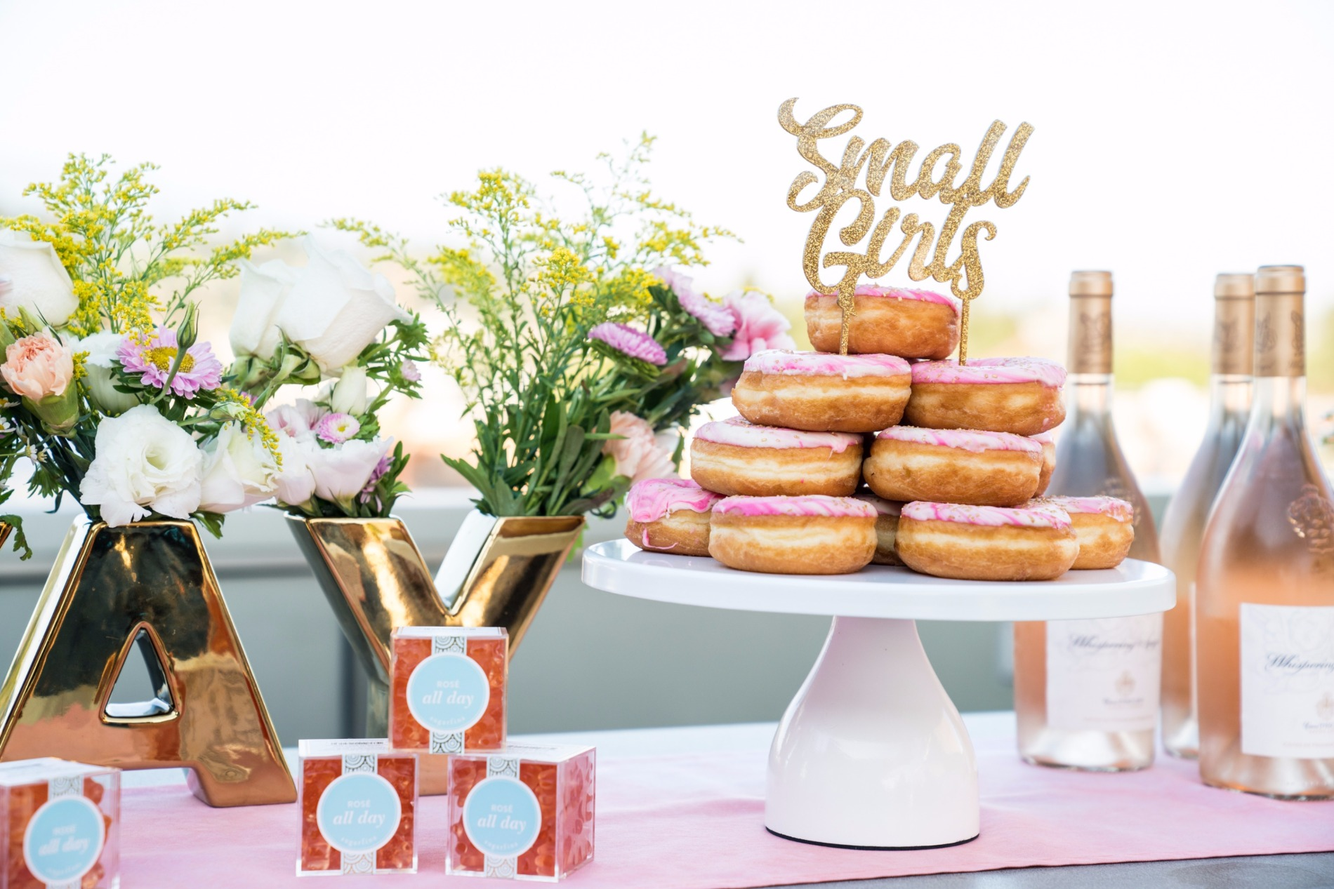 California Donuts | Sugarfina | Whispering Angel| Black Twine