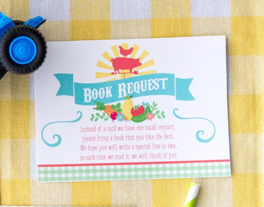 Book Request Card (DIY Printable) by Jen T by Design