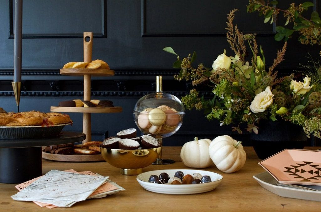 Styling a Fall Dessert Table, with Harlow & Grey