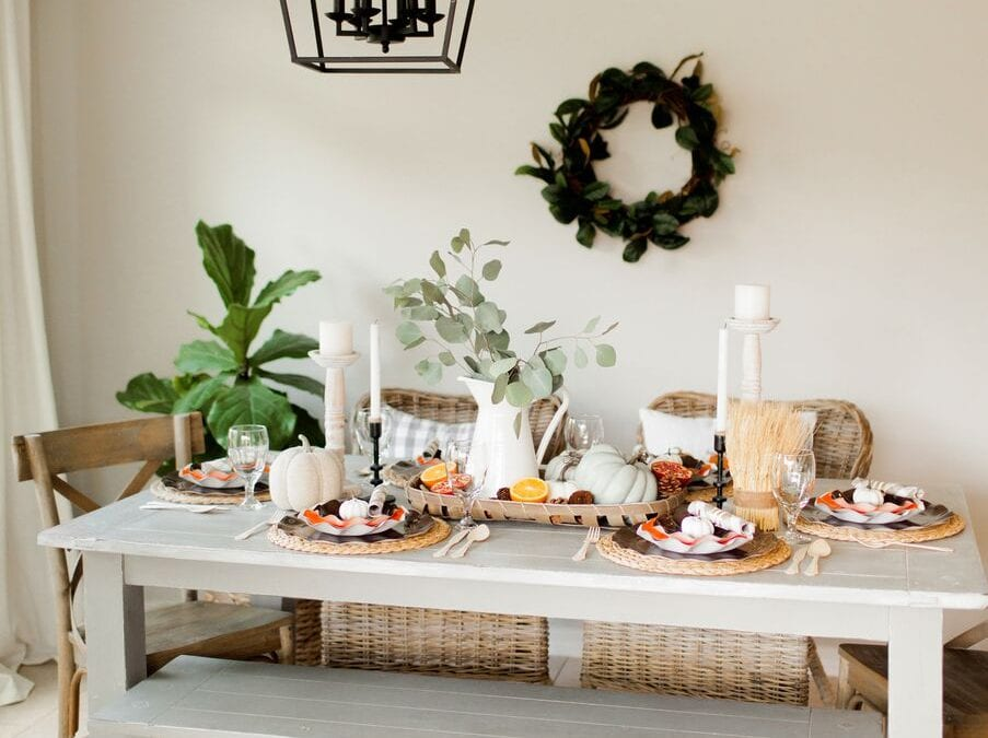 Decorate for Fall with Andi Mans' Harvest Table