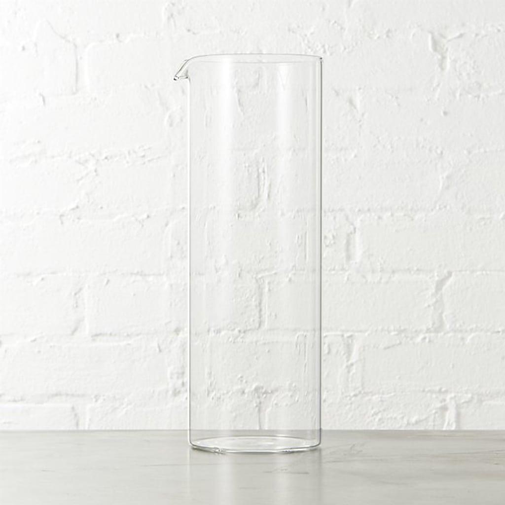 beaker glass pitcher