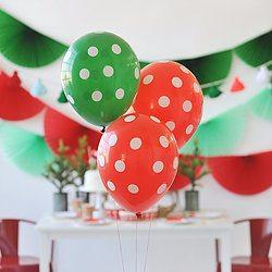 Christmas Balloon Set - Happy Wish Company