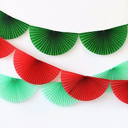 Christmas Bunting Garlands - Happy Wish Company