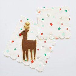 Christmas Party Napkins - Happy Wish Company
