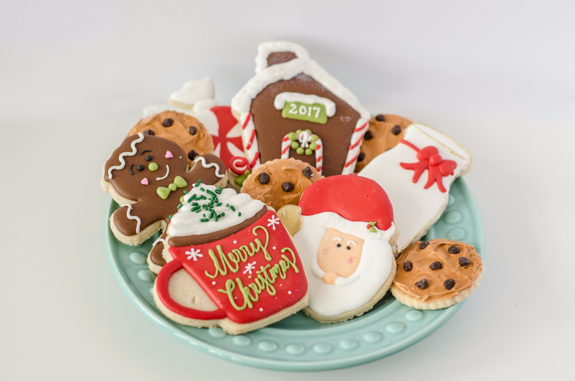 Christmas Cookies from Cookies for Santa Party by Mint Event Design | Black Twine