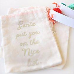 Pom Pom Gift Bags - Happy Wish Company