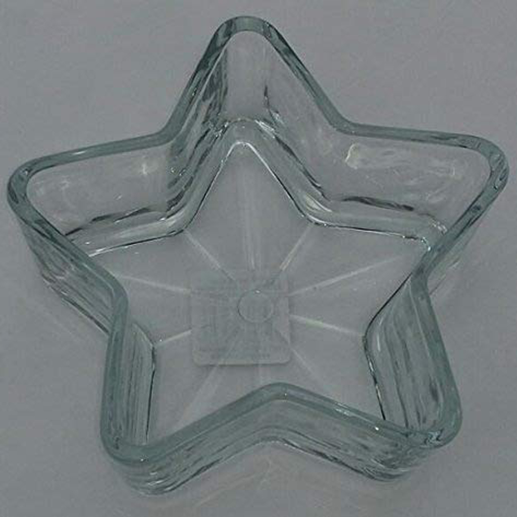 Libbey 6-inch Star-shaped Candy Bowls