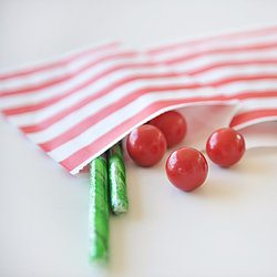 Candy Cane Striped Party Bags - Happy Wish Company
