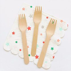 Wooden Forks - Happy Wish Company