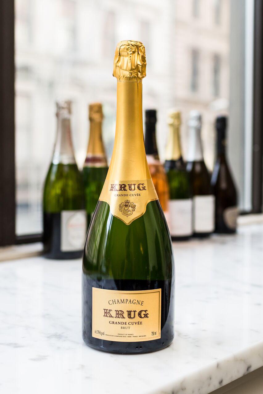 """Krug """"Grande Cuvée"""" Brut Champagne"""