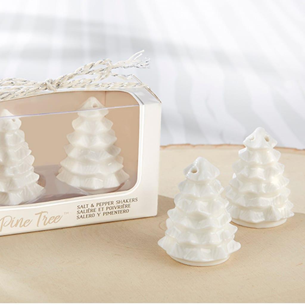 Pine Tree Salt & Pepper Shakers by Kate Aspen