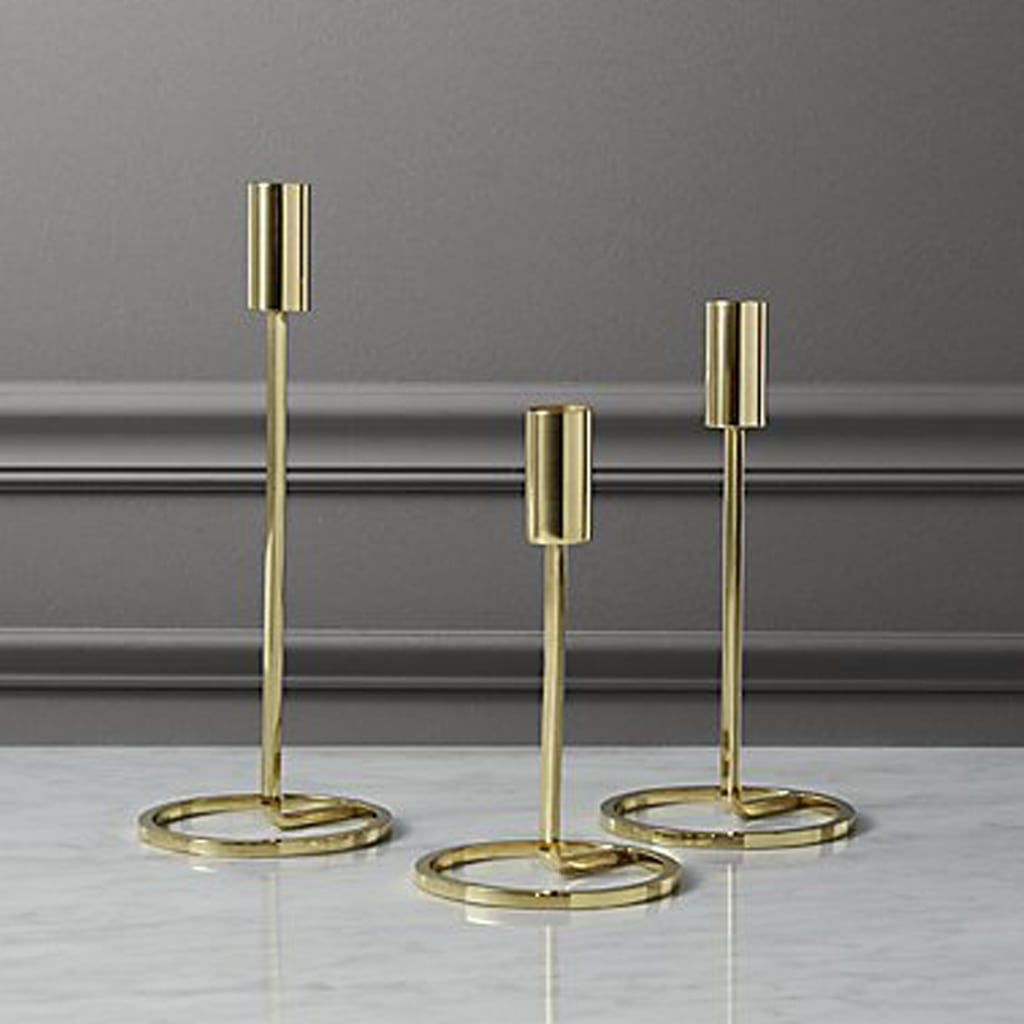 3-piece roundabout taper candle holder set CB2
