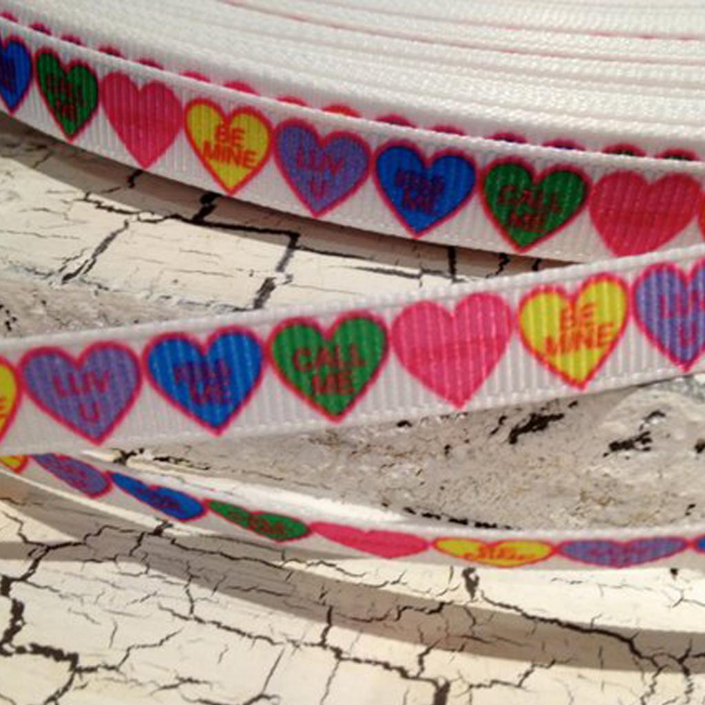 Conversation Hearts Ribbon