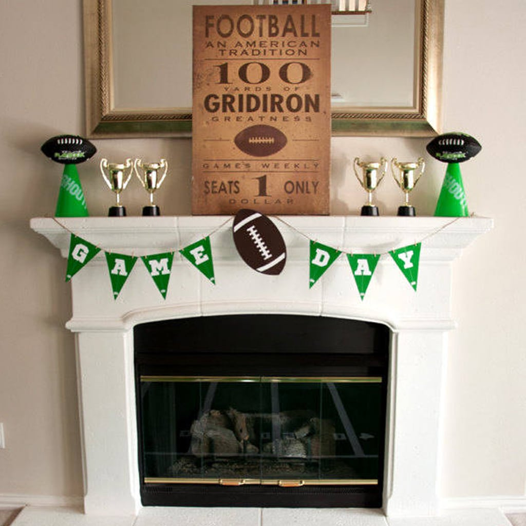 Game Day Banner for Football Party by BellaGrey Designs