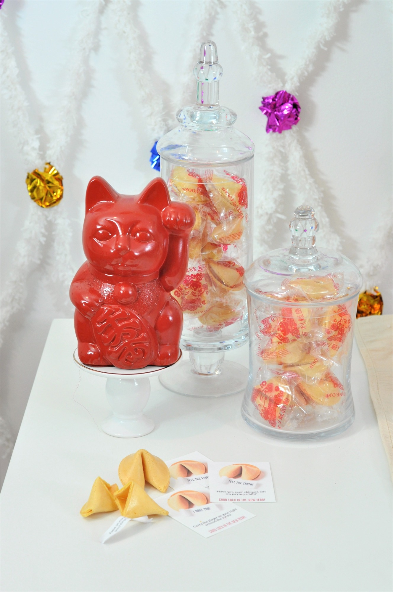 Fortune Cookies from Lucky Cat Chinese New Year Party by Fern & Maple   Black Twine