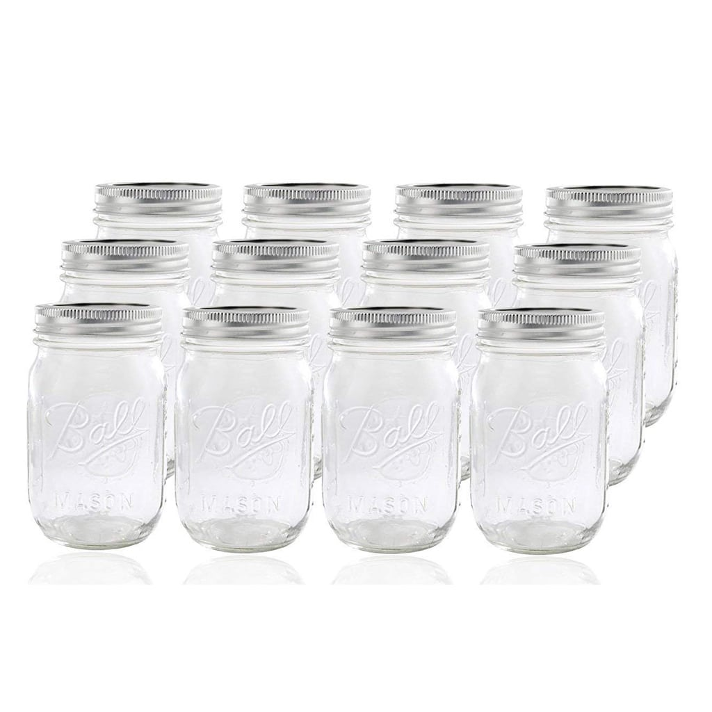 mason jars for Football Party by BellaGrey Designs