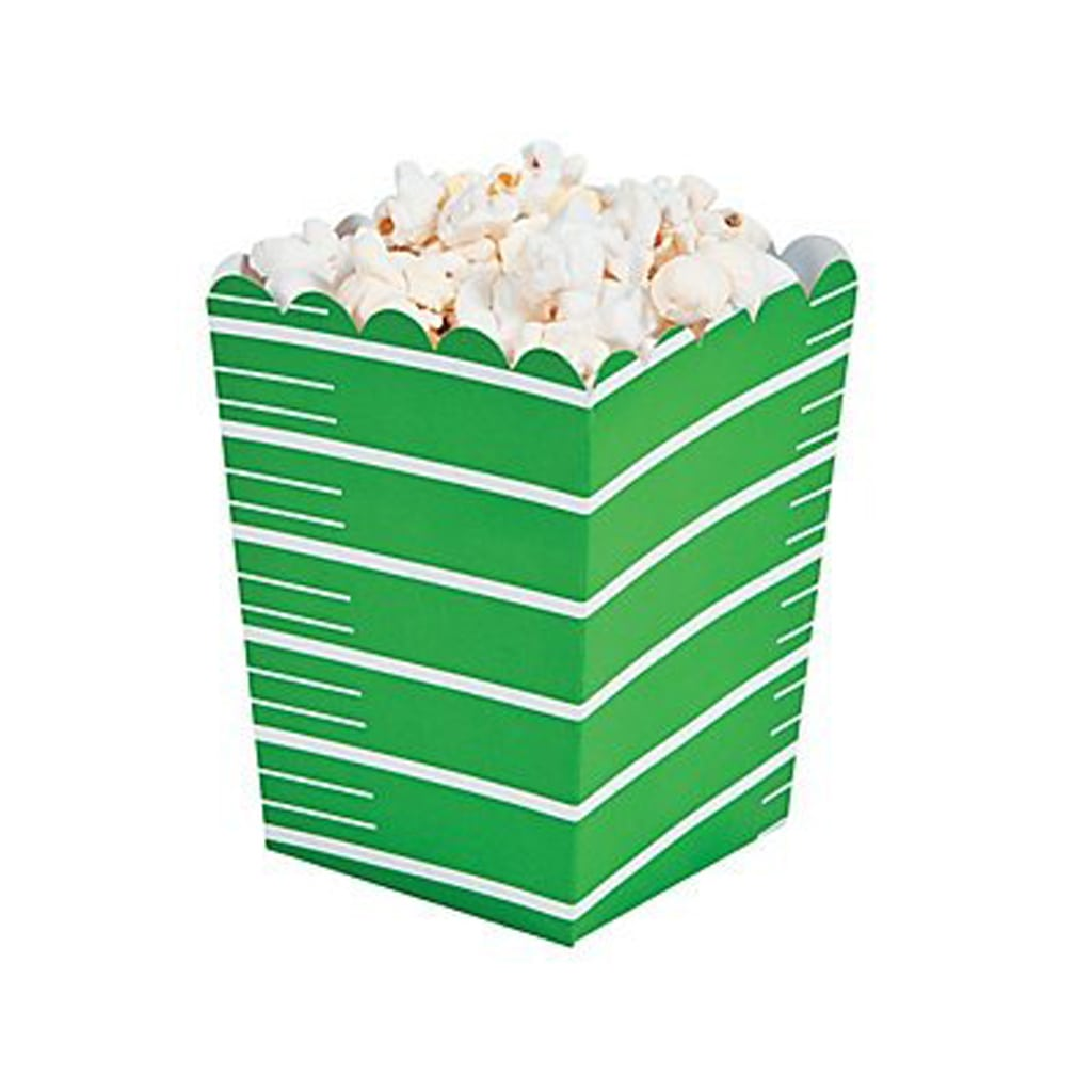 Football popcorn boxes for Football Party by BellaGrey Designs