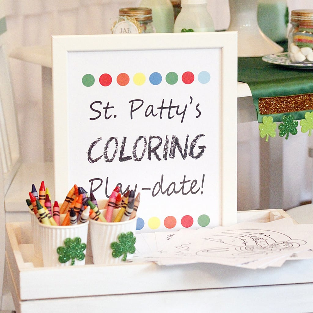St. Patrick's Party - PRINTABLE file - 8x10 printable sign by A Lovely Design