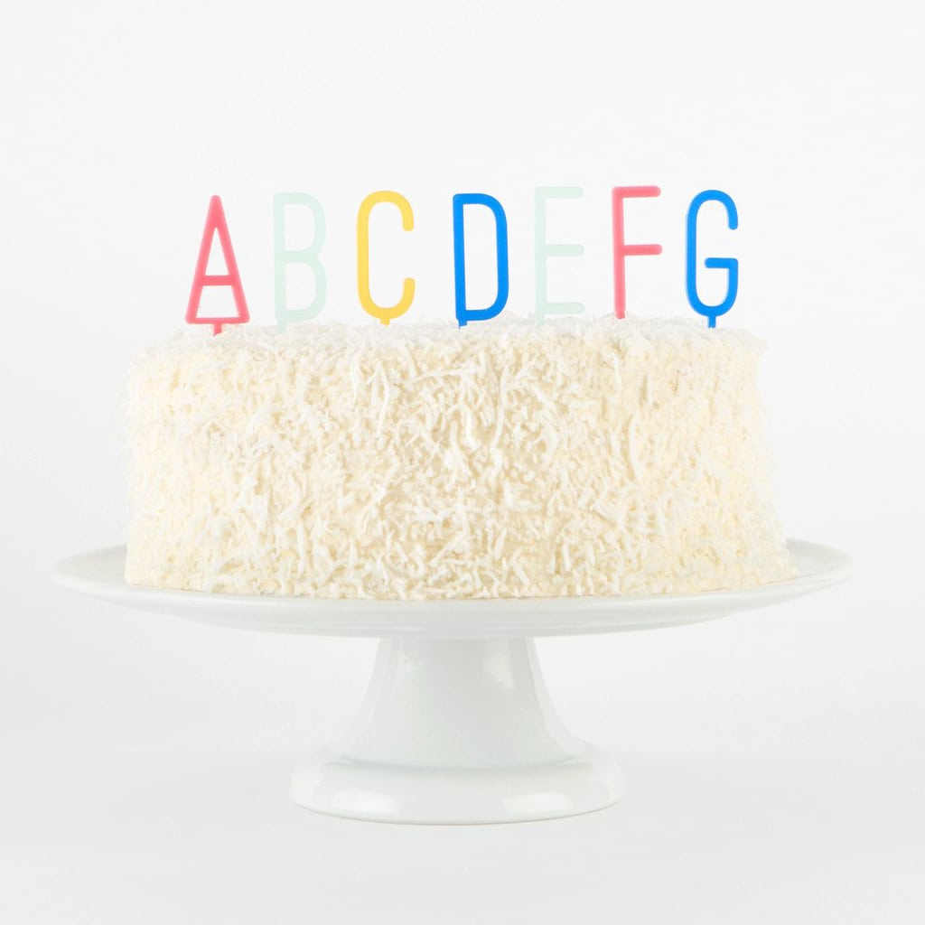 Full Alphabet Cake Topper Set by Bracket