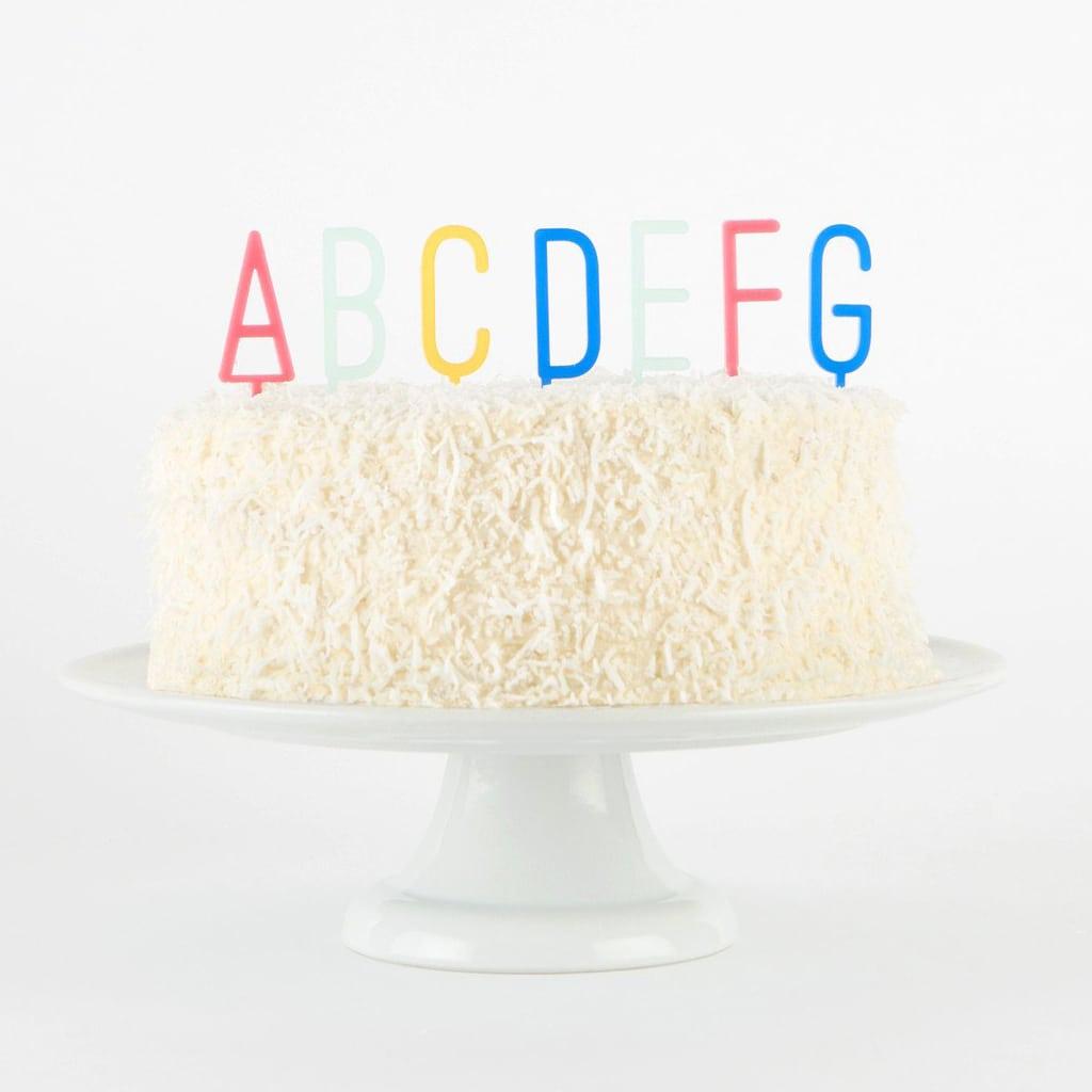 Full Alphabet Cake Topper Set by Bracket