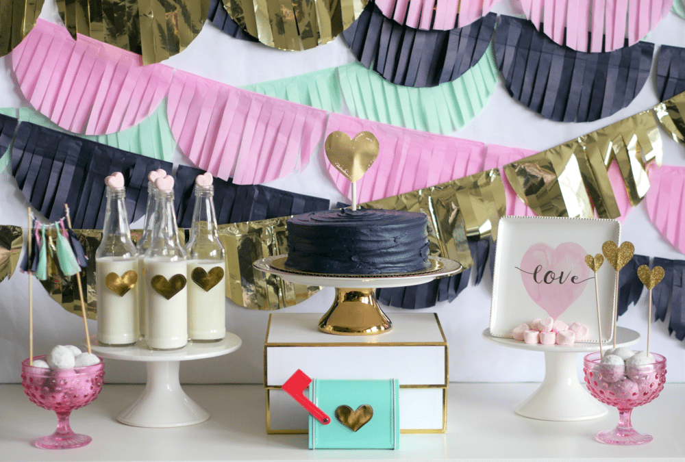 Let Love Twinkle – A Valentine's Day Play Date with Mint Event Design