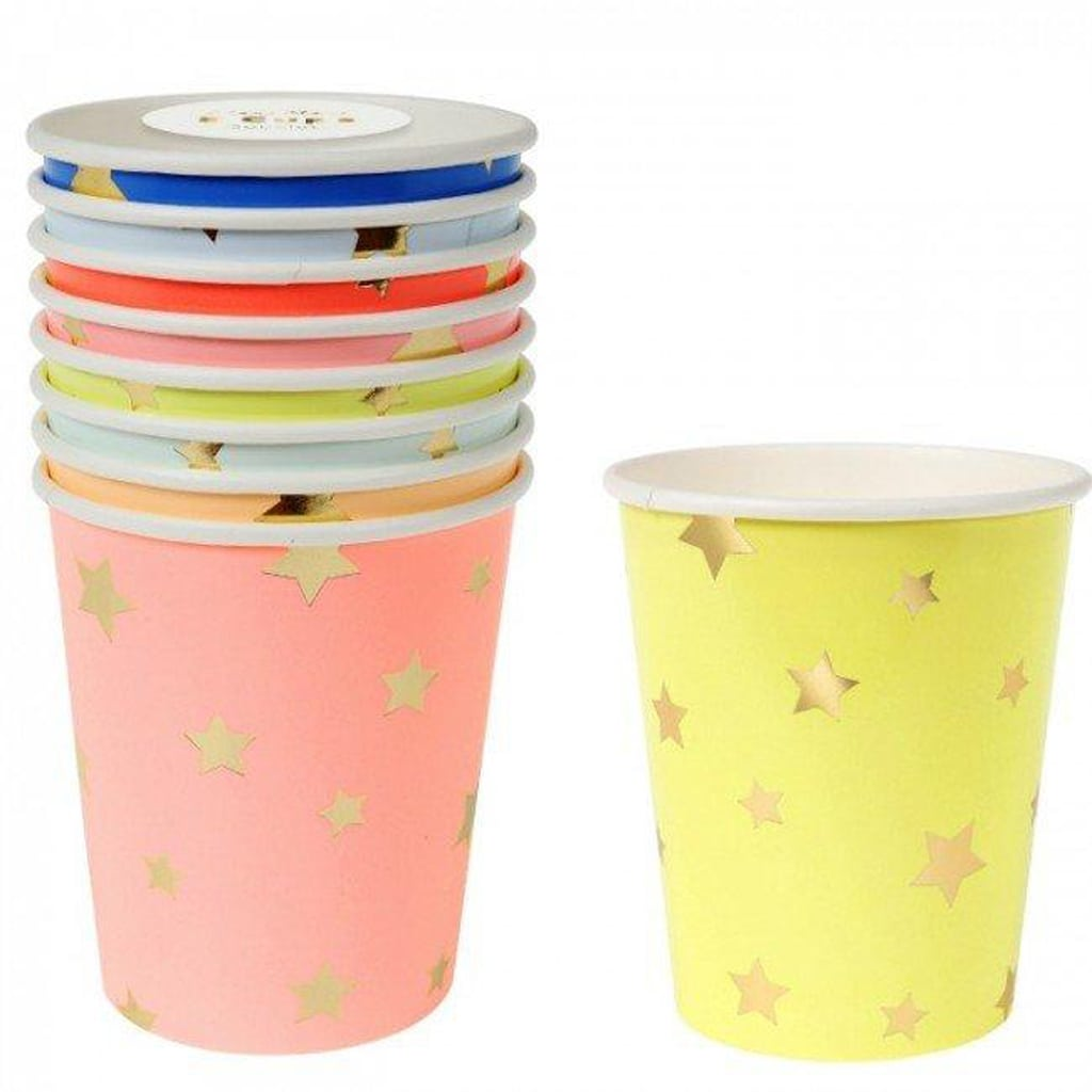 Star Paper Cups by Meri Meri
