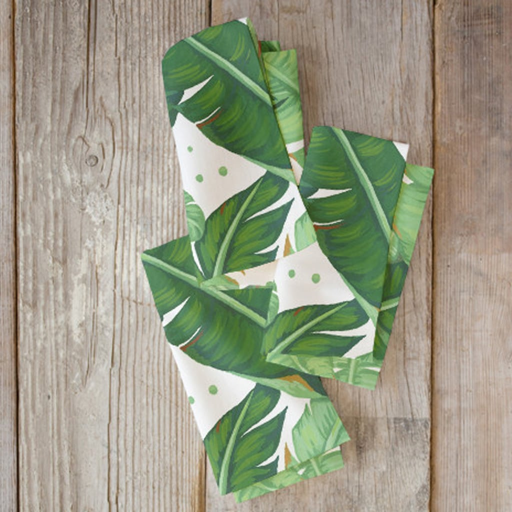banana leaves napkins by Four Wet Feet Studio | Minted