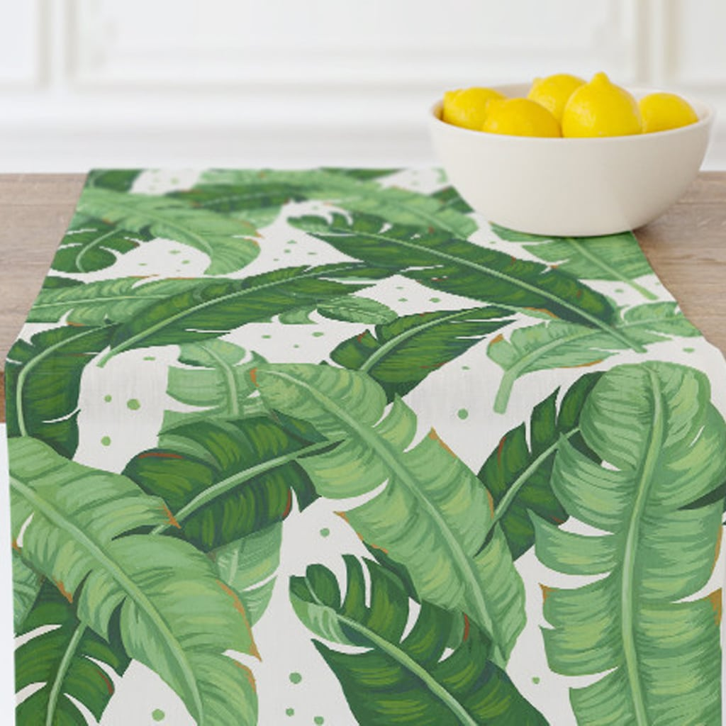 banana leaves table runner by Four Wet Feet Studio | Minted