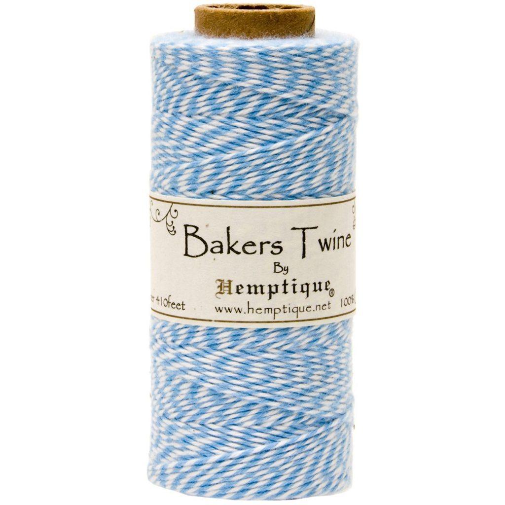 blue baker's twine