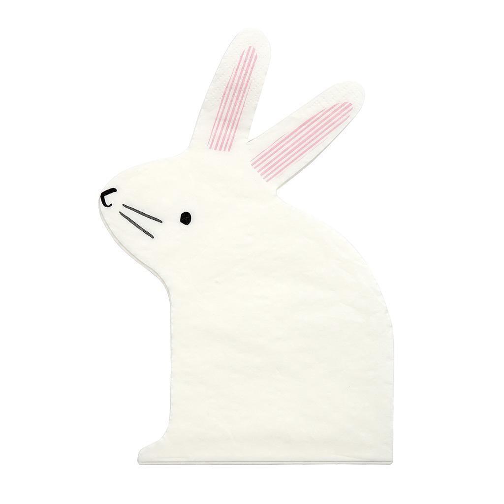 Bunny napkins by Meri Meri