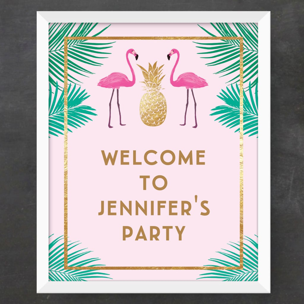 Custom Party Sign (DIY Printable)