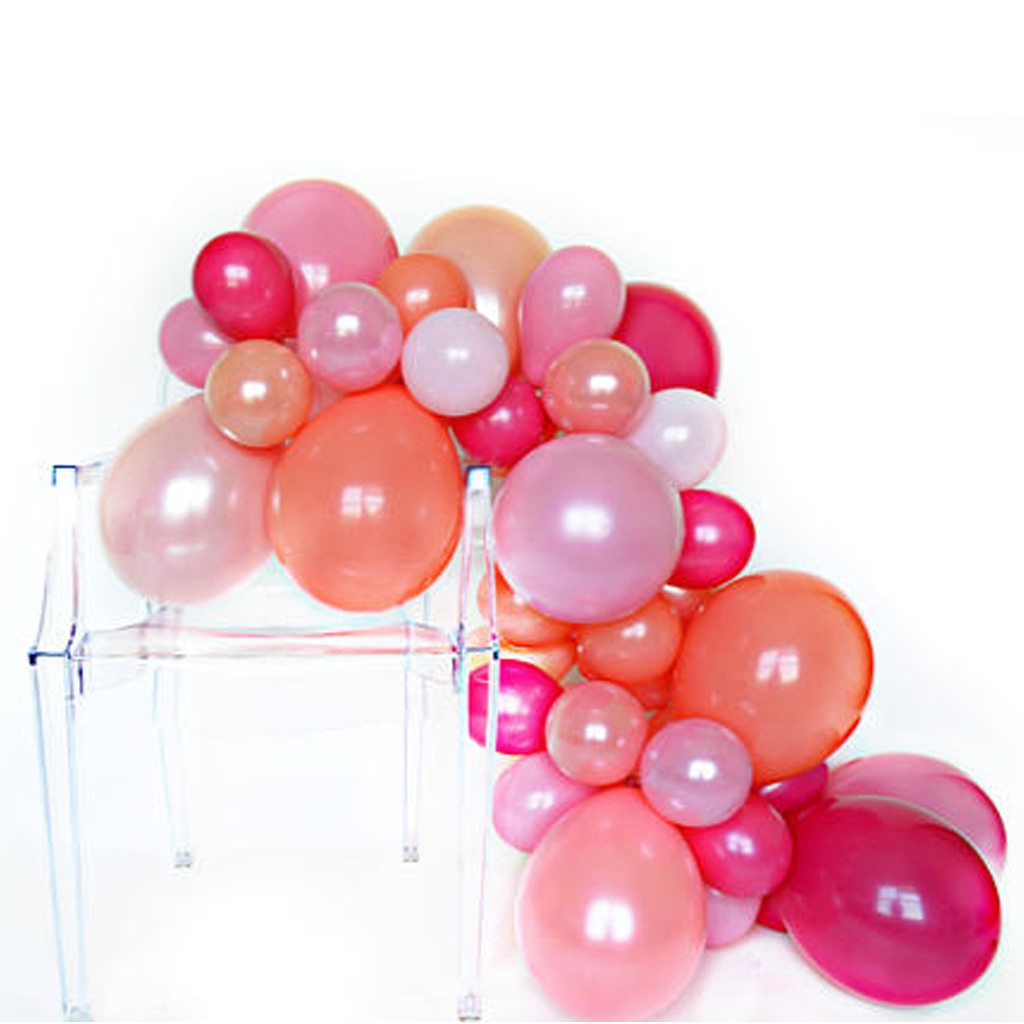 DIY Balloon Garland by One Stylish Party